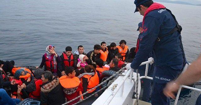 'Son bir haftada 1035 düzensiz göçmen yakalandı'