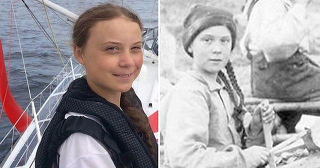 121 yıllık fotoğraftaki benzerlik görenleri şaşırtıyor
