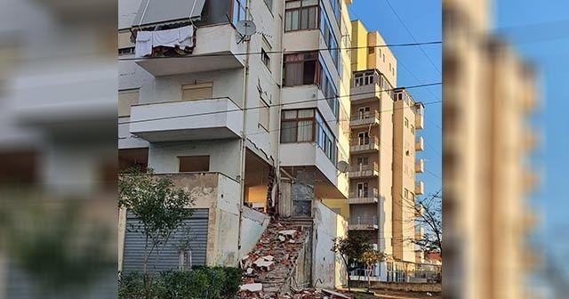 AFAD, Arnavutluk'taki depremin merkez üssünde