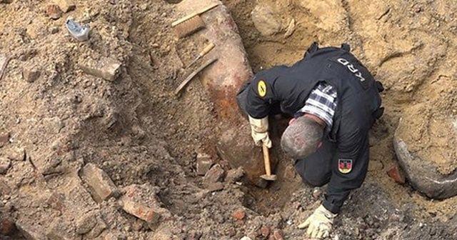 Almanya'da 2. Dünya Savaşı'ndan kalma bomba bulundu, bölge alarma geçti