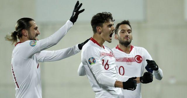 A Milliler Andorra'yı 2-0 mağlup etti