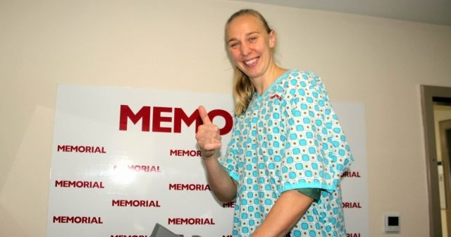 Ann Wauters sağlık kontrolünden geçti
