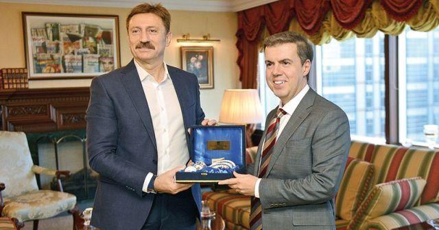 Bahçelievler Belediye Başkanı Hakan Bahadır'dan İhlas'a ziyaret
