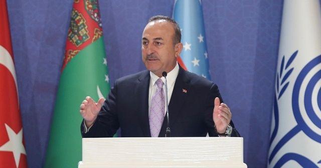 Bakan Çavuşoğlu, ABD'ye sert tepki gösterdi