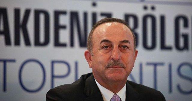 Bakan Çavuşoğlu: 'Büyük bir oyunu bozduk'