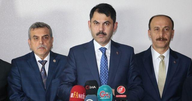 Bakan Kurum: Kardeş ülke Arnavutluk'a 500 tane konut yapıyoruz