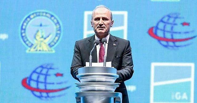 """Bakan Turhan'dan """"Atlas Global Havayolları"""" açıklaması"""