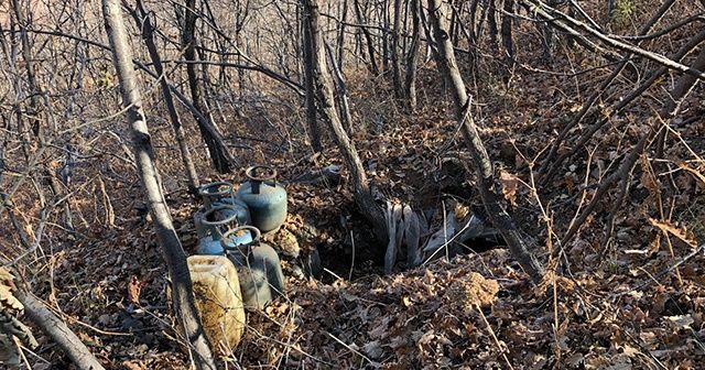 Bingöl'de el bombası ile tuzaklanmış sığınak imha edildi