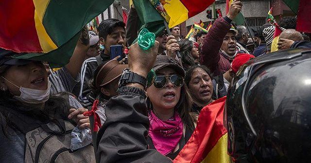 Bolivya'da şiddet hız kesmiyor, onlarca yaralı var