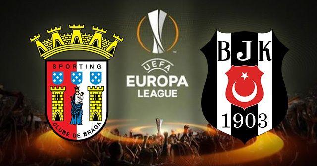Braga-Beşiktaş maçı canlı İZLE! Şifresiz veren yabancı kanallar! BJK Braga maçı Beinsports canlı izle