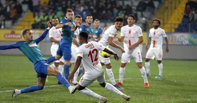 Çaykur Rizespor tek golle kazandı
