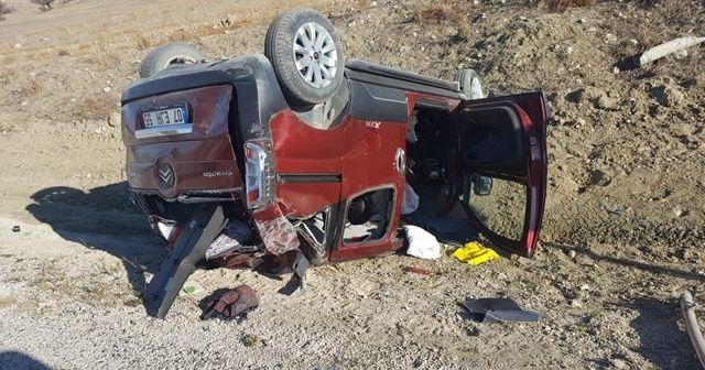 Çocuğun kullandığı otomobil devrildi: 7 yaralı