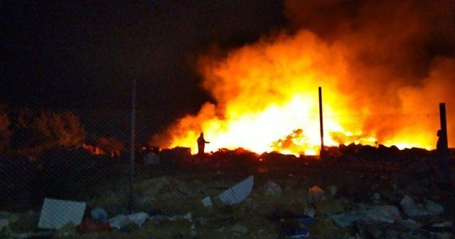 Çöplükte çıkan yangınlar vatandaşı isyan ettirdi