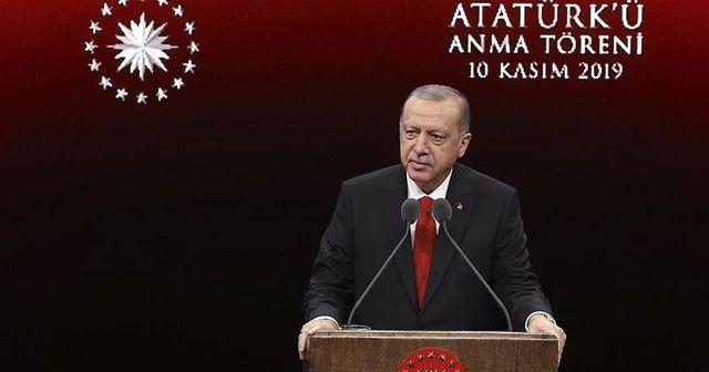 Cumhurbaşkanı Erdoğan: 365 bin Suriyeli kendi topraklarına döndü