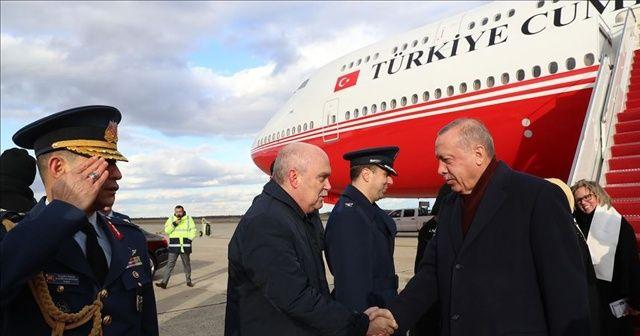 Cumhurbaşkanı Erdoğan ABD'ye ulaştı