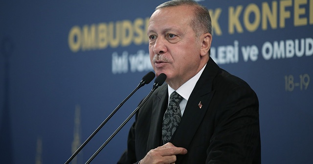 Cumhurbaşkanı Erdoğan: 'Bizim derdimiz petrol değil, insan'