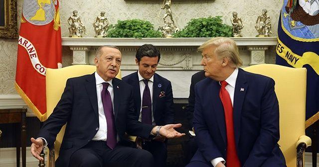 Cumhurbaşkanı Erdoğan ile ABD Başkanı Trump arasındaki görüşme sona erdi!