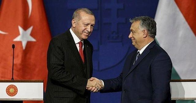 Cumhurbaşkanı Erdoğan Macar ve Türk iş adamlarıyla bir araya geldi