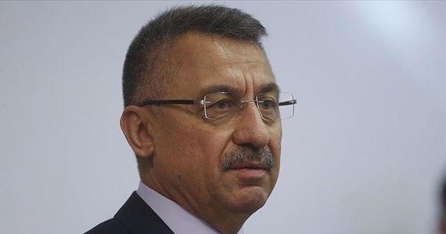 Cumhurbaşkanı Yardımcısı Fuat Oktay'dan Kıbrıs açıklaması!
