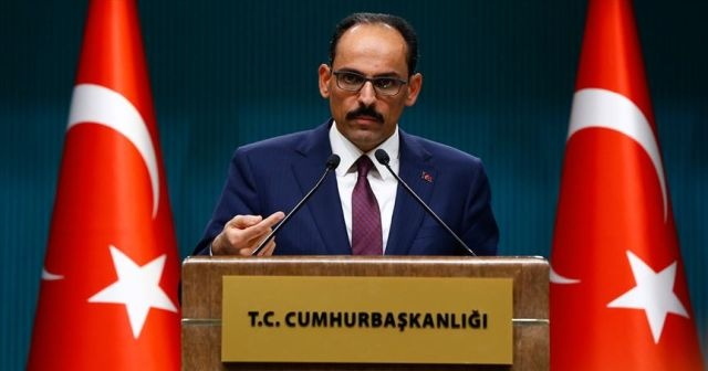 Cumhurbaşkanlığı Kabine Toplantısı sonrası İbrahim Kalın'dan kritik açıklamalar