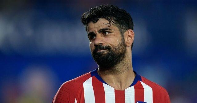 Diego Costa'dan Atletico Madrid'e kötü haber