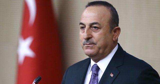 Dışişleri Bakanı Mevlüt Çavuşoğlu'ndan Tel Abyad mesajı