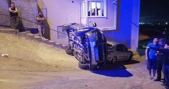 Ehliyetsiz sürücü kaza yaptı, annesi ölümden döndü