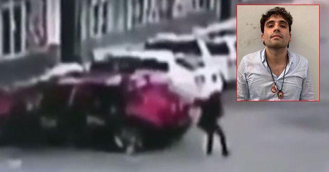 El Chapo'nun oğlunu yakalayan polise infaz