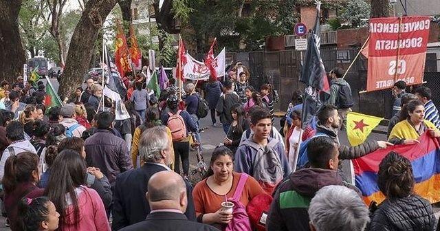 Ermeni dernekleri ve PKK yandaşları Türkiye karşıtlığında birleşti