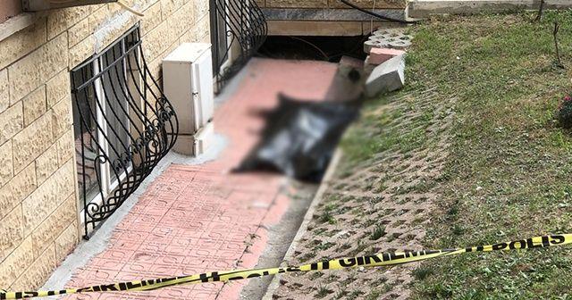 Eşinin ölümüne dayanamayıp 13'üncü kattan atladı