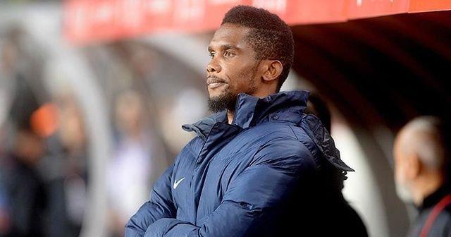 Eto'o: Şampiyonlar Ligi kupasını kazanan ilk siyahi antrenör olacağım