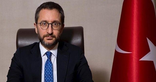 Fahrettin Altun'dan Beştepe'ye giden CHP'li iddialarına yalanlama