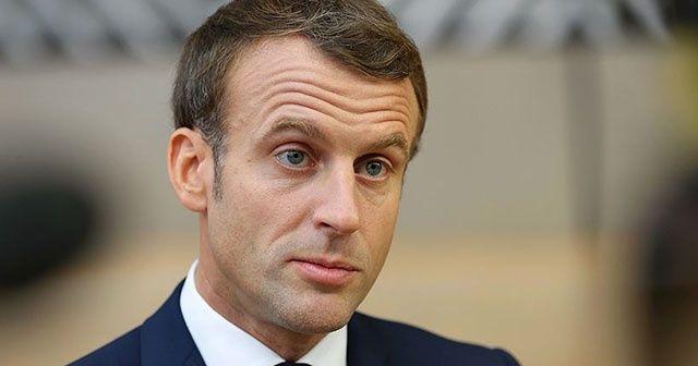 Fransa Cumhurbaşkanı Emmanuel Macron BM Genel Sekreteri Guterres ile görüştü
