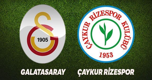 Galatasaray Çaykur Rizespor maçı canlı izle! GS Rize maçını şifresiz veren yabancı kanallar var mı? Beinsports 1 canlı izle