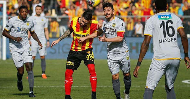 Göztepe ile BtcTurk Yeni Malatyaspor berabere kaldı