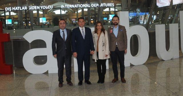 Guatemala Devlet Başkanı, İstanbul Havalimanı'na hayran kaldı