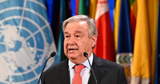 Guterres: Kıbrıs barış sürecine yönelik hava giderek kötüleşiyor