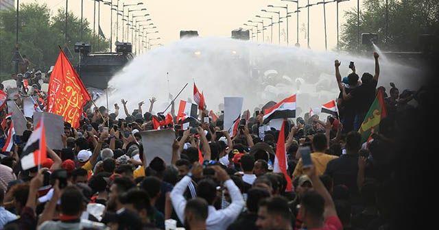 Irak'ın Zikar vilayetinde 2 gösterici öldü