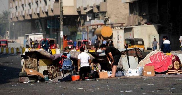 Irak'ta protestolar devam ediyor