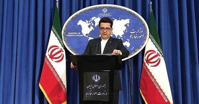 İran'dan, AB'nin gösterilerle ilgili açıklamasına tepki