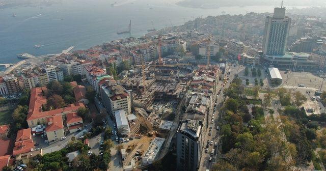 İstanbul'un sembol binası yenileniyor! Sahne göründü