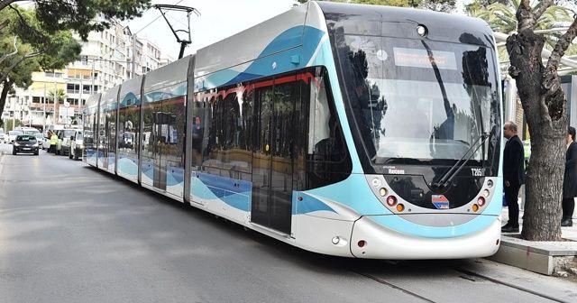 İzmir'de tramvayla taşınan yolcu sayısı 50 milyona ulaştı