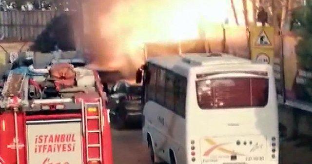 Kadıköy'de korkutan patlama