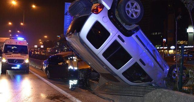Kadıköy'de zincirleme kaza! Trafik durma noktasına geldi