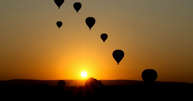 Kapadokya'da Perşembe günü balon turları iptal edildi