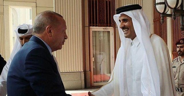 Katar Emiri: Türkiye-Katar ortaklığı başarılı bir şekilde hedeflerine ilerliyor