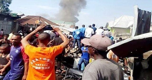 Kongo'daki uçak kazasında ölü sayısı 29'a yükseldi