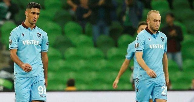 Krasnodar, Trabzonspor'u 3-1 mağlup etti