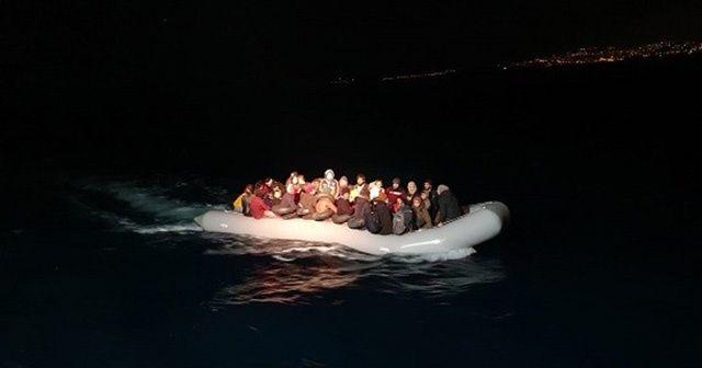 Kuşadası'nda 55 göçmen yakalandı