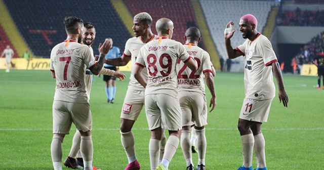 Ligdeki ilk maç Galatasaray'ın